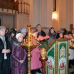 В среду первой седмицы Великого поста епископ Николай совершил чтение канона Андрея Критского в соборе Трех святителей Советска