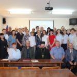 Священник поздравил черняховских стражей порядка с 300-летием Российской полиции