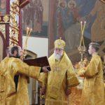 Епископ Николай совершил Божественную литургию в день 100-летия мученической кончины царской семьи
