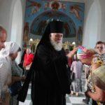 Епископ Николай совершил Всенощное бдение в храме преподобного Сергия