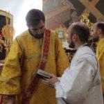 Диаконская хиротония в Михайловском соборе