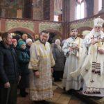 Епископ Николай в навечерие Крещения Господня совершил Божественную Литургию в Кафедральном соборе Архангела Михаила