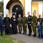 Епископ Николай возглавил божественную литургию в храме Александра Невского