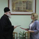 Подписано соглашение о сотрудничестве между Черняховской епархией и педагогическим колледжем