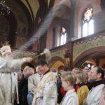 В праздник Крещения Господня епископ Николай совершил Литургию и чин великого освящения воды в кафедральном соборе Архангела Михаила