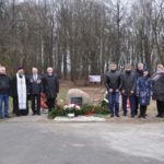 Закладка камня в основание памятника погибшим военнопленным