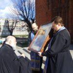 Епископ Николай совершил объезд Черняховской епархии с образом Божией Матери