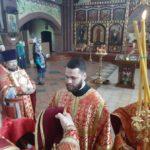 В день тезоименитства епископ Николай возглавил божественную литургию в кафедральном соборе Архангела Михаила