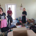 В поселке Свобода собрали детские вещи нуждающимся