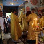 В престольный праздник в поселке Железнодорожный отметили 10-летие освящения храма Петра и Павла