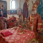 Престольный праздник отметили в Маяковском