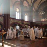 Епископ Николай совершил литургию в праздник Крещения Господня