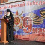 Епископ Николай принял участие в параде