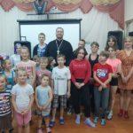 Священник посетил детский приют