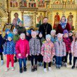 Храм Всех Святых посетили воспитанники детского сада